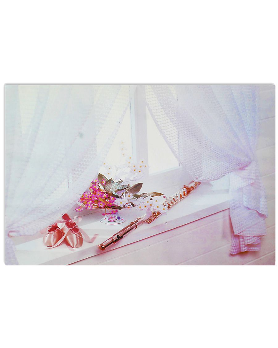 Flute And Ballet 17x11 Poster