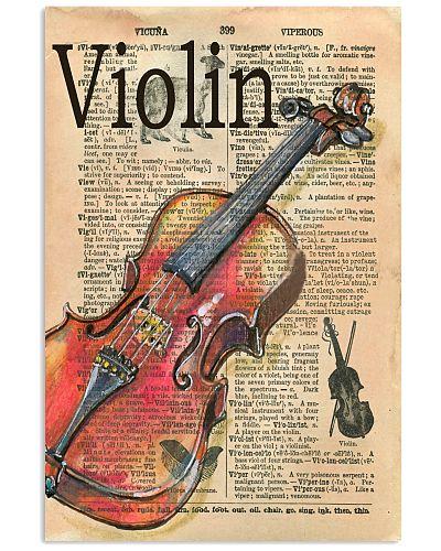 Violin Unique poster