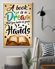 Teacher A Book Is A Dream 11x17 Poster lifestyle-poster-1