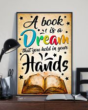 Teacher A Book Is A Dream 11x17 Poster lifestyle-poster-2