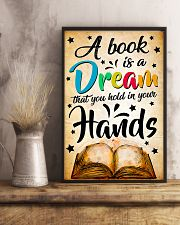 Teacher A Book Is A Dream 11x17 Poster lifestyle-poster-3