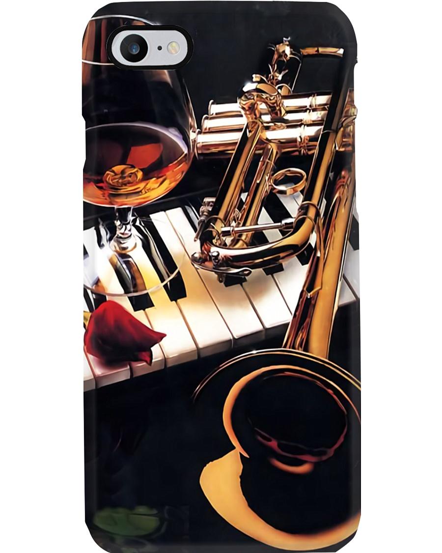 Trumpet Rose Phone Case