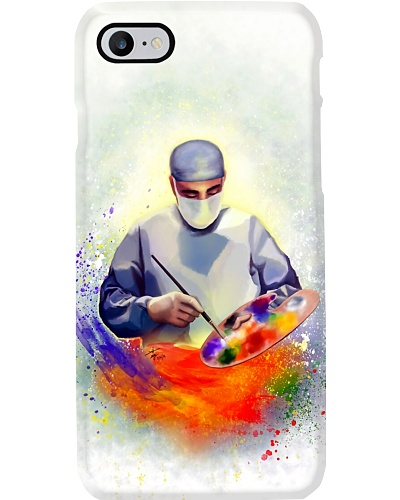 Surgeon Painter Phone case
