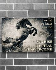 Horse Girls We Overcome  17x11 Poster poster-landscape-17x11-lifestyle-18