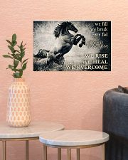Horse Girls We Overcome  17x11 Poster poster-landscape-17x11-lifestyle-21