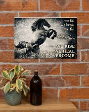 Horse Girls We Overcome  17x11 Poster poster-landscape-17x11-lifestyle-23