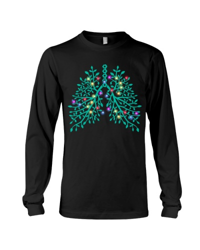 Respiratory Therapist Christmas Lung