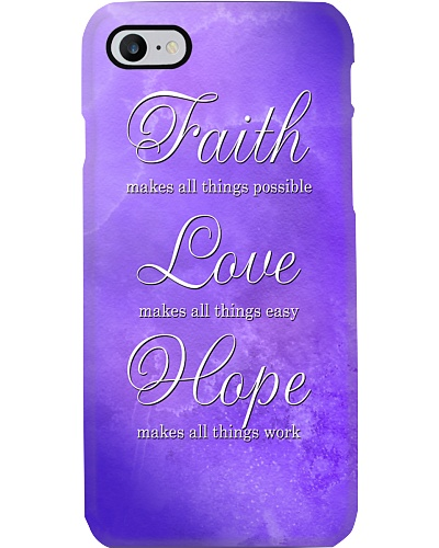 Suicide Prevention Faith Hope Love