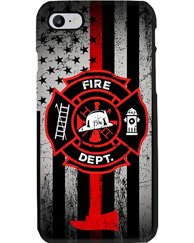 Firefighter Fire Dept Phonecase
