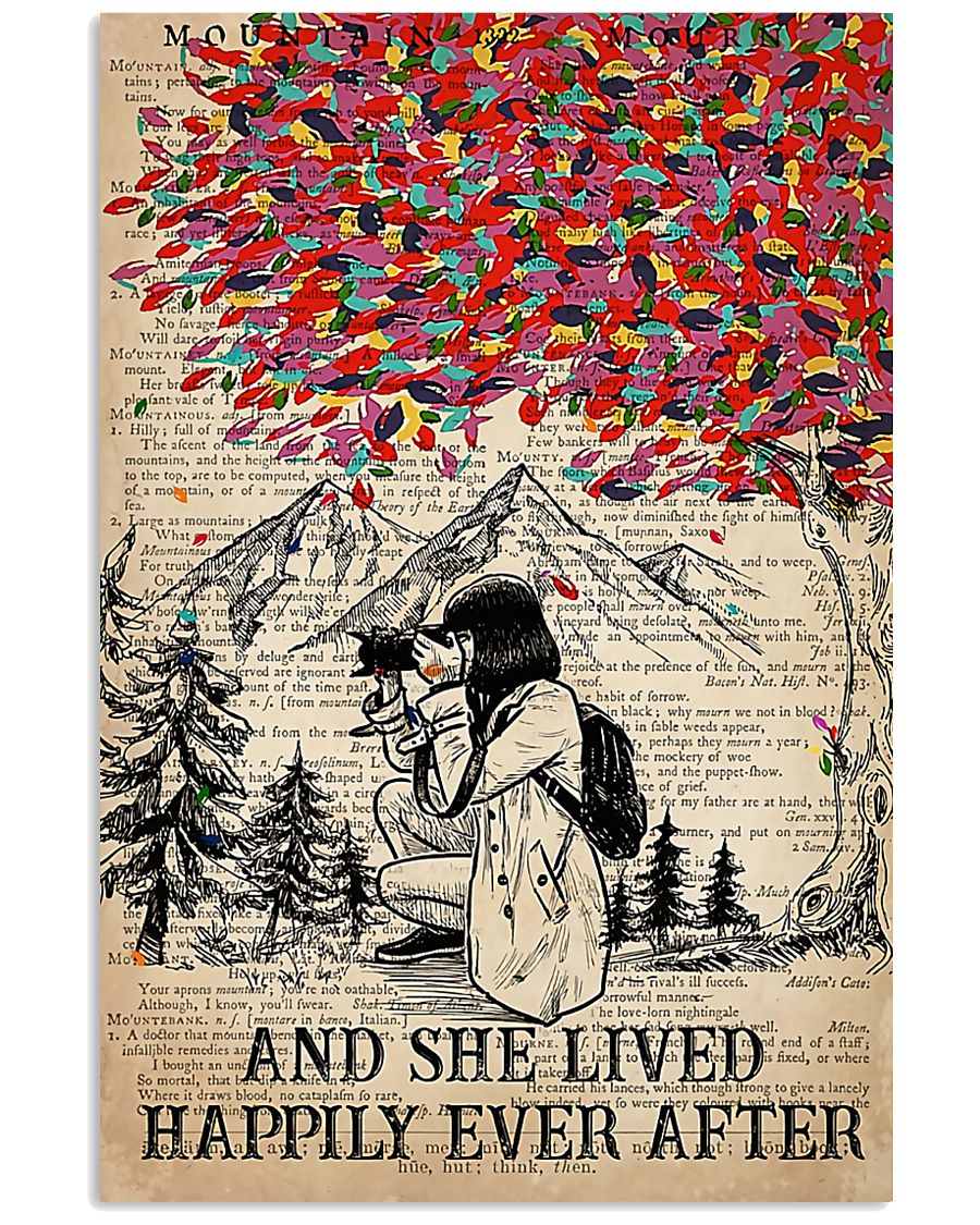 Photographer She Lived Happily Ever After 11x17 Poster