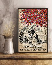 Photographer She Lived Happily Ever After 11x17 Poster lifestyle-poster-3