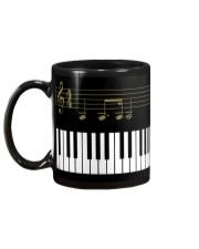 Piano sheet Mug back