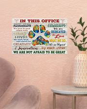 Veterinarian We Are Not Afraid To Be Great 17x11 Poster poster-landscape-17x11-lifestyle-22
