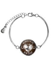 Horse Girl - Always in my heart Metallic Circle Bracelet thumbnail