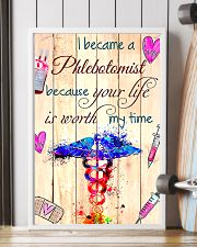 I became a phlebotomist  11x17 Poster lifestyle-poster-4