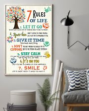 Social Worker 7 Rules of Life  11x17 Poster lifestyle-poster-1