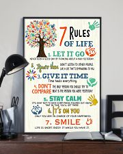 Social Worker 7 Rules of Life  11x17 Poster lifestyle-poster-2