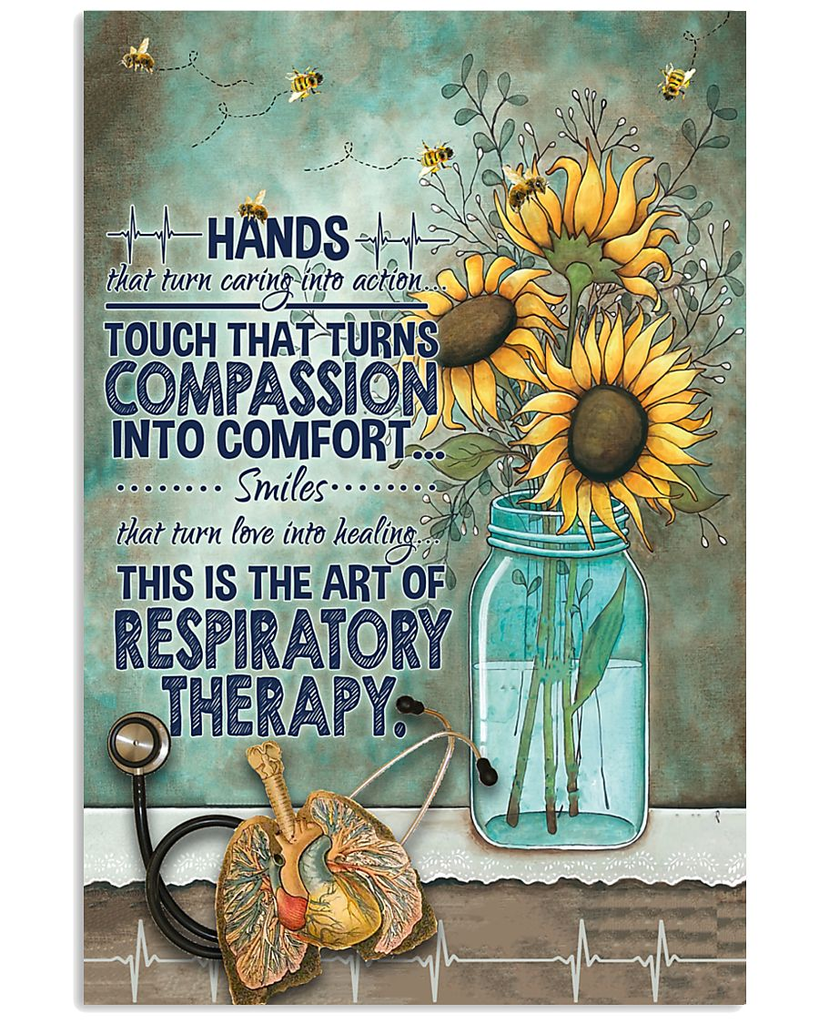 The Art Of Respiratory Therapy 11x17 Poster