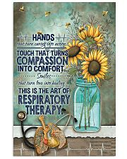 The Art Of Respiratory Therapy 11x17 Poster front
