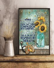 The Art Of Respiratory Therapy 11x17 Poster lifestyle-poster-3