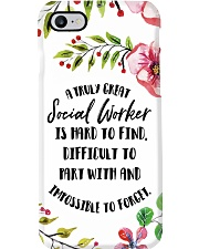 A Truly Great Social Worker Is Hard To Find Phone Case i-phone-7-case