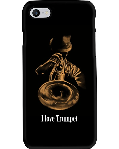 I love Trumpet Phone case
