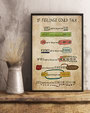 Social Worker If Feelings Could Talk 11x17 Poster lifestyle-poster-3