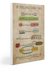 Social Worker If Feelings Could Talk 20x30 Gallery Wrapped Canvas Prints thumbnail