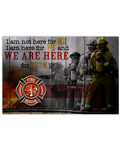 Firefighter we are here