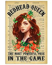Redhead Girl - The Most Powerful Piece In The Game 11x17 Poster front