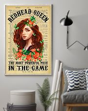 Redhead Girl - The Most Powerful Piece In The Game 11x17 Poster lifestyle-poster-1