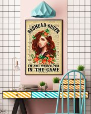 Redhead Girl - The Most Powerful Piece In The Game 11x17 Poster lifestyle-poster-6