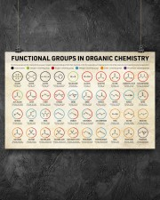 Chemistry Functional Groups 17x11 Poster aos-poster-landscape-17x11-lifestyle-12