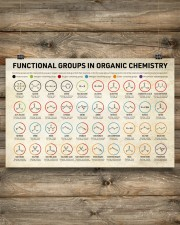 Chemistry Functional Groups 17x11 Poster aos-poster-landscape-17x11-lifestyle-14