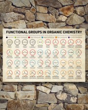 Chemistry Functional Groups 17x11 Poster aos-poster-landscape-17x11-lifestyle-16
