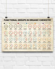 Chemistry Functional Groups 17x11 Poster aos-poster-landscape-17x11-lifestyle-17