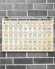 Chemistry Functional Groups 17x11 Poster poster-landscape-17x11-lifestyle-18