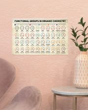 Chemistry Functional Groups 17x11 Poster poster-landscape-17x11-lifestyle-22