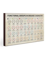 Chemistry Functional Groups 30x20 Gallery Wrapped Canvas Prints thumbnail