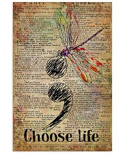Choose Life Suicide Prevention 11x17 Poster front