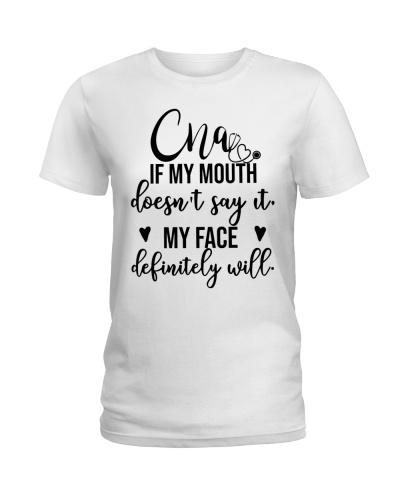 CNA If my mouth doesn't say it