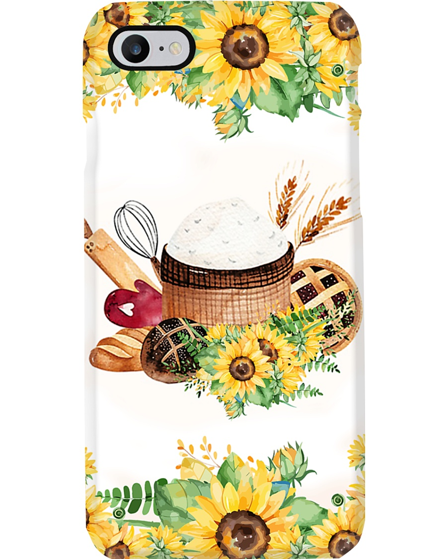 Baking Sunflower Tools Phone Case