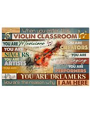 In This Violin Classroom 17x11 Poster front