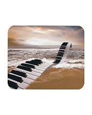Pianist Piano on the Beach Poster Mousepad thumbnail