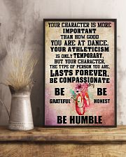 Ballet - Your character is more important 11x17 Poster lifestyle-poster-3