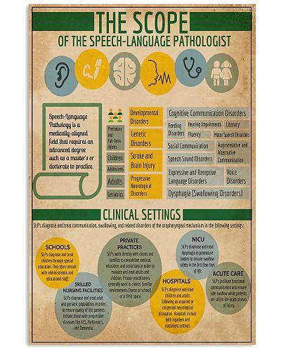 Scope Of Speech Language Pathologist
