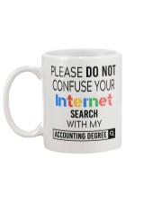Accountant - Do not confuse your internet search Mug back