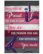 Hairdresser May You Be Proud Of The Work You Do 11x17 Poster front