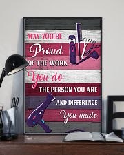 Hairdresser May You Be Proud Of The Work You Do 11x17 Poster lifestyle-poster-2