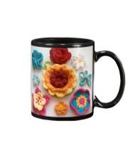 Crochet and Knitting Flowers Mug tile